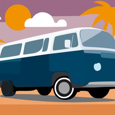 Autobus per Ischia