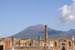 Pompei veduta